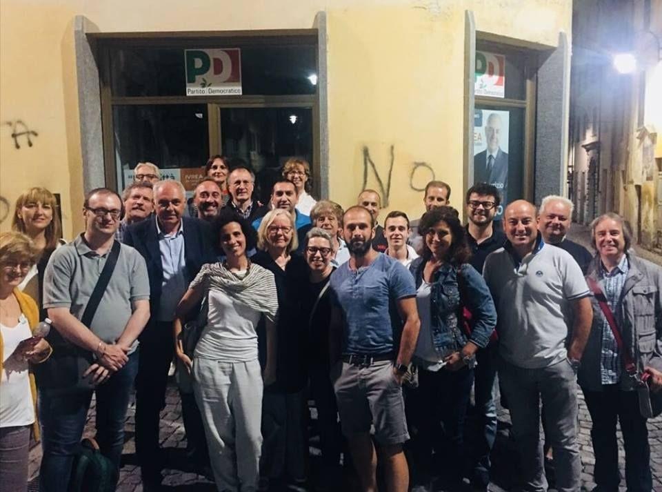ELEZIONI IVREA - Perinetti: «Auguro buon lavoro al sindaco Sertoli»