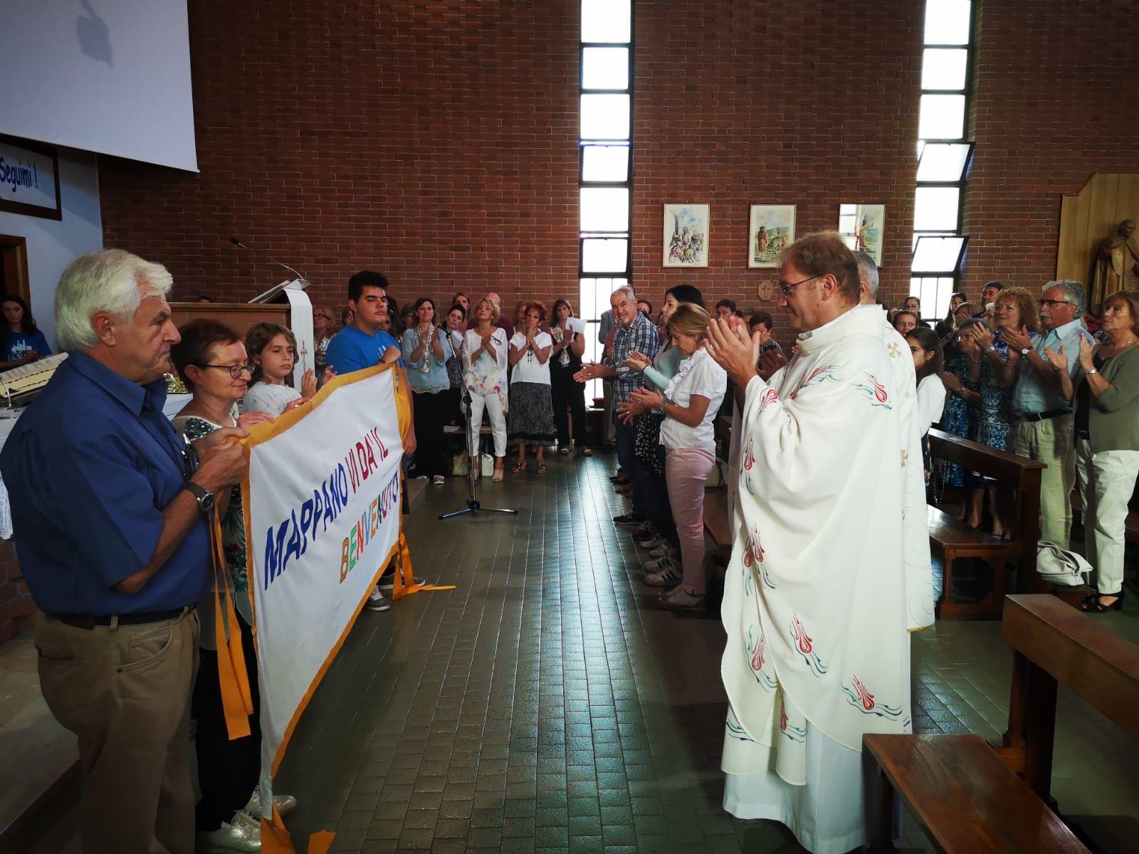 MAPPANO - Il ritorno di don Pierantonio Garbiglia, nuovo parroco