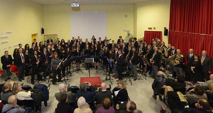 RIVAROLO - A Salussola l'esordio del maestro Berrino alla guida della Filarmonica Rivarolese