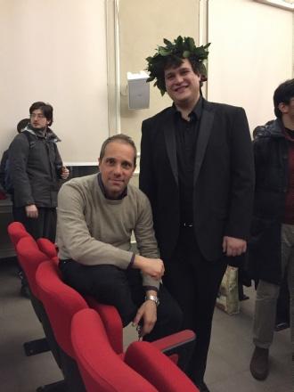 CASTELLAMONTE - Marco Sartore maestro di pianoforte a soli 22 anni