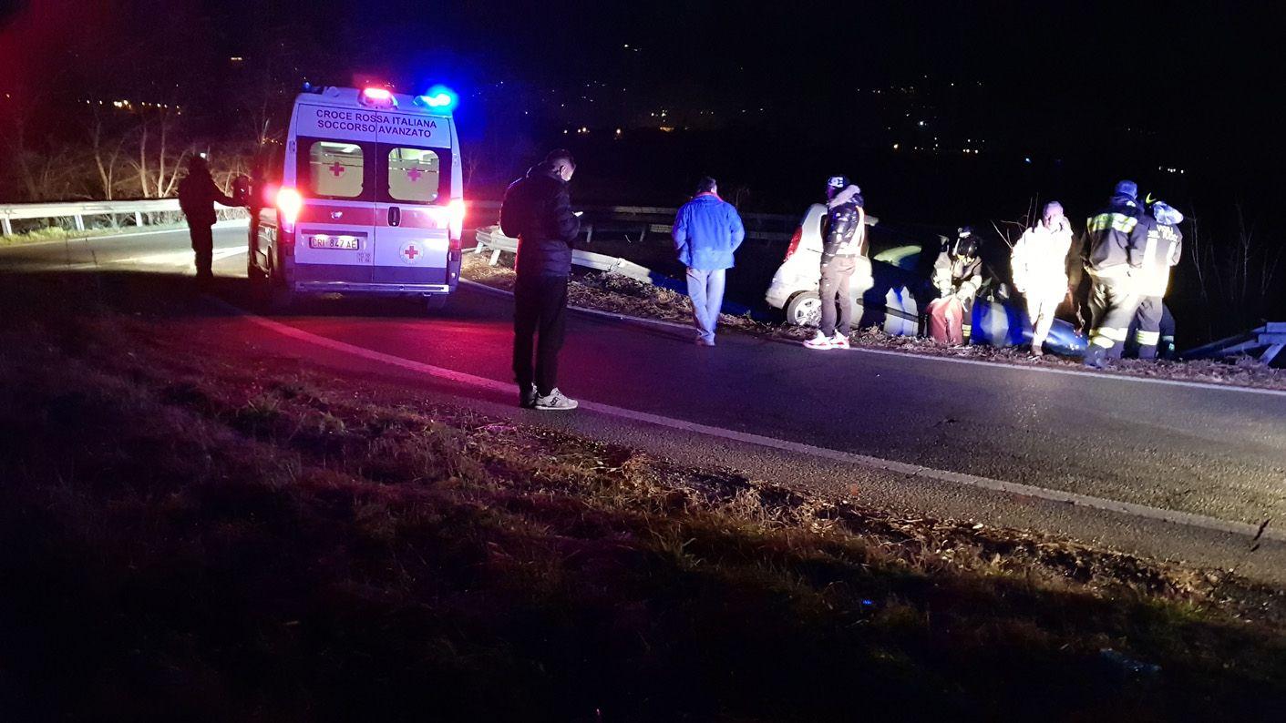 CASTELLAMONTE - Un altro incidente stradale sulla Pedemontana - VIDEO