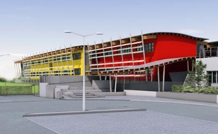 RIVAROLO - Ripresi i lavori della nuova scuola elementare