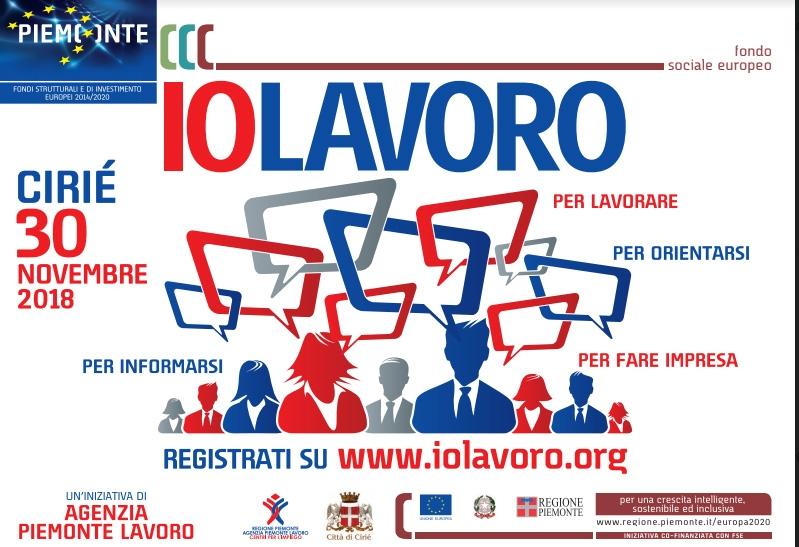 CIRIÈ - «IoLavoro» per contrastare la disoccupazione