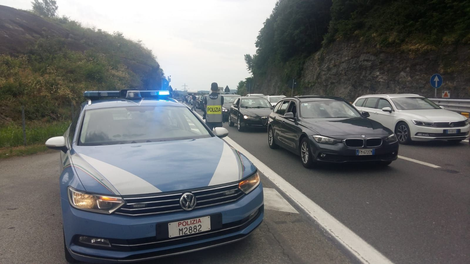 QUINCINETTO - Frana sulla A5, Comune chiede stato di emergenza
