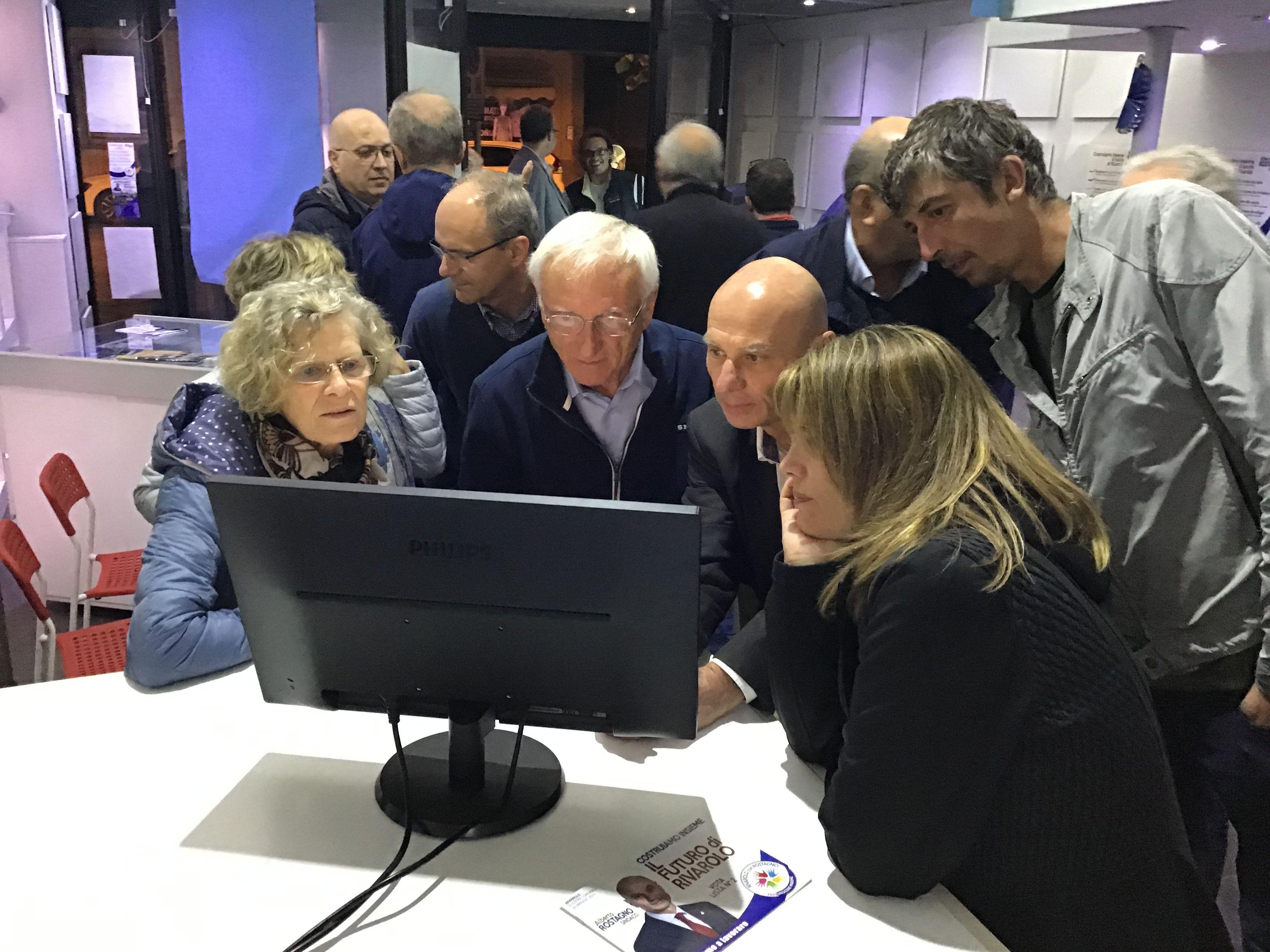 ELEZIONI RIVAROLO CANAVESE - Il sindaco uscente Alberto Rostagno verso la vittoria