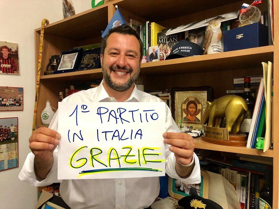 ELEZIONI EUROPEE - Vince Salvini: la Lega supera il 34%. Primo partito in quasi tutti i Comuni del Canavese