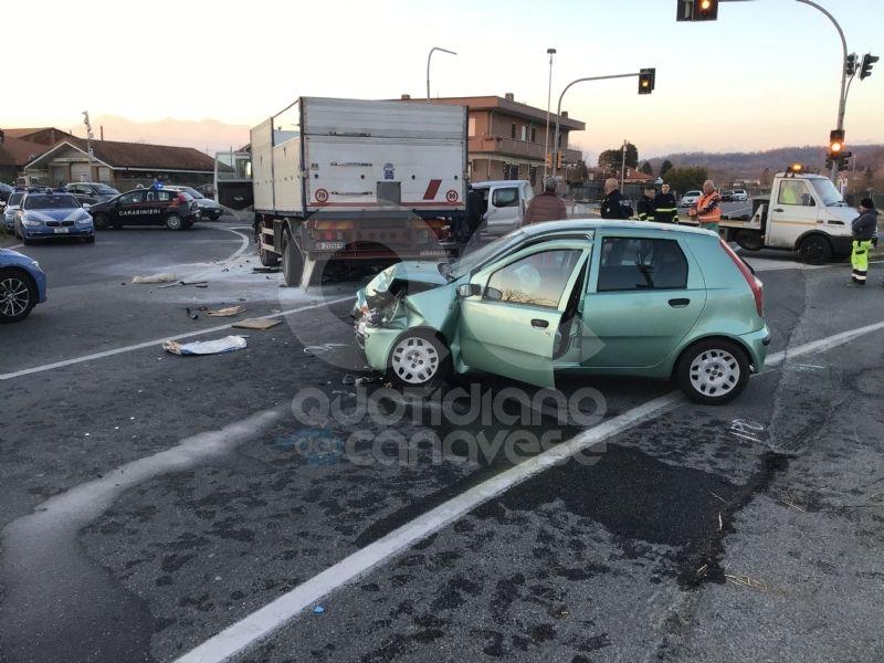 CALUSO - Incidente mortale, autista indagato per omicidio stradale