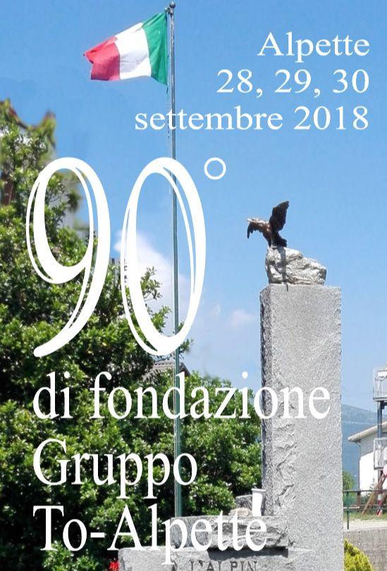 ALPETTE - Super compleanno per gli Alpini del Gruppo Torino-Alpette