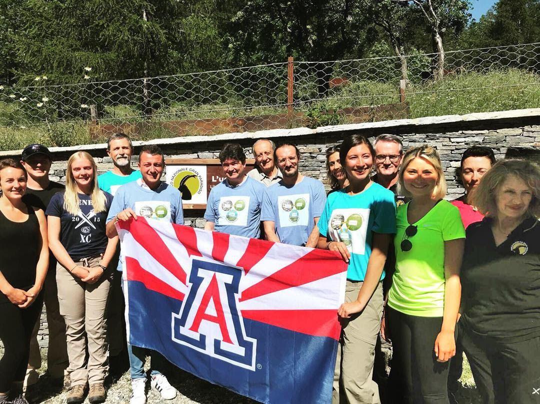 DALL'ARIZONA AL PARCO GRAN PARADISO - Studenti americani in visita alle montagne della Valle Soana