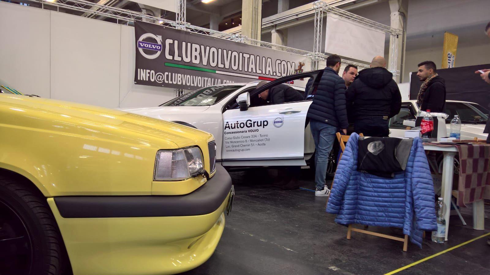 VOLVO AutoGrup e Club VOLVO Italia protagonisti al salone Automotoretrò di Torino