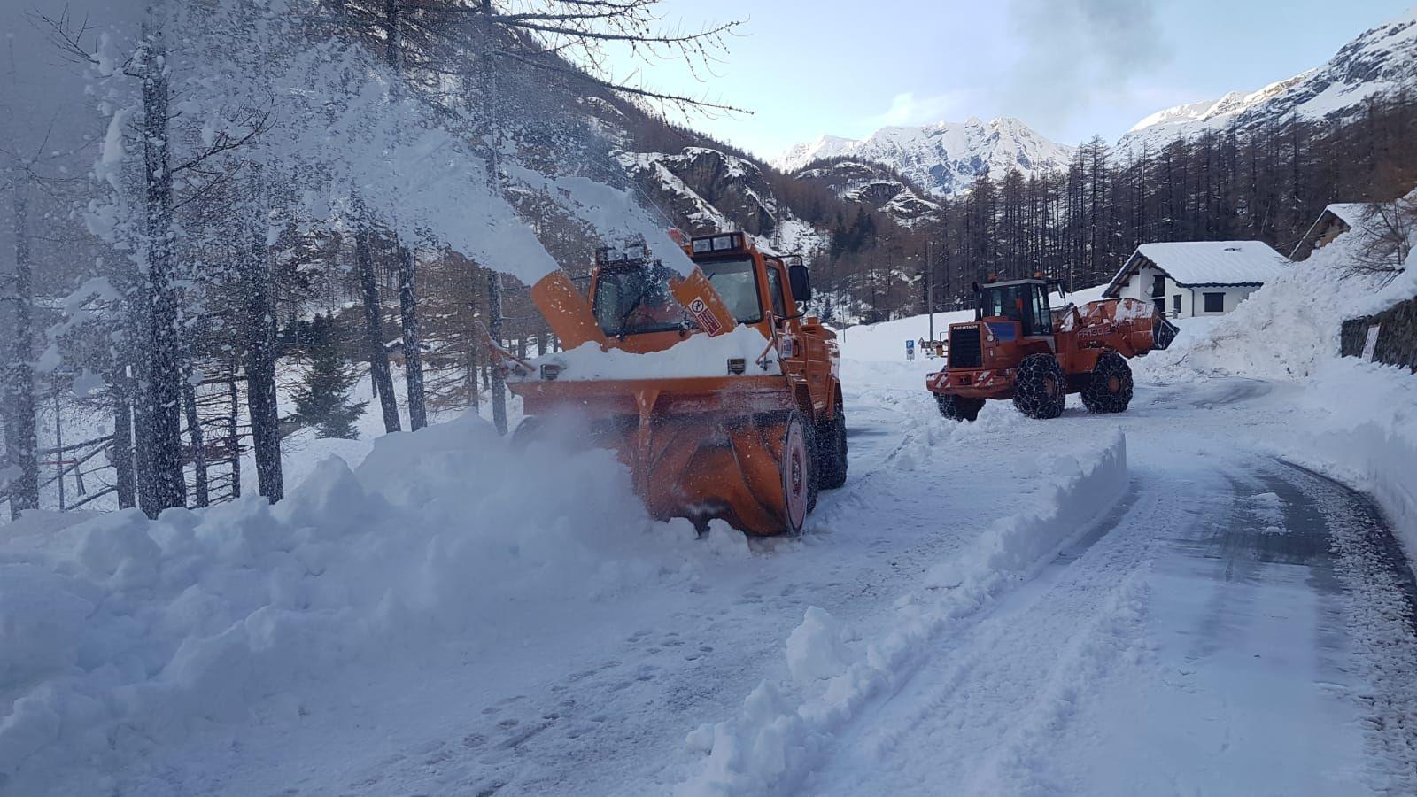 CERESOLE REALE - «Grazie al lavoro di tutti è stato possibile superare l'emergenza neve»
