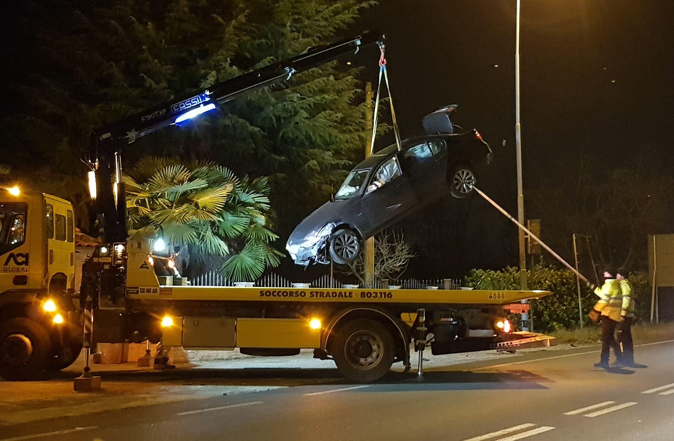 FELETTO - Altri due incidenti stradali lungo la 460 - FOTO