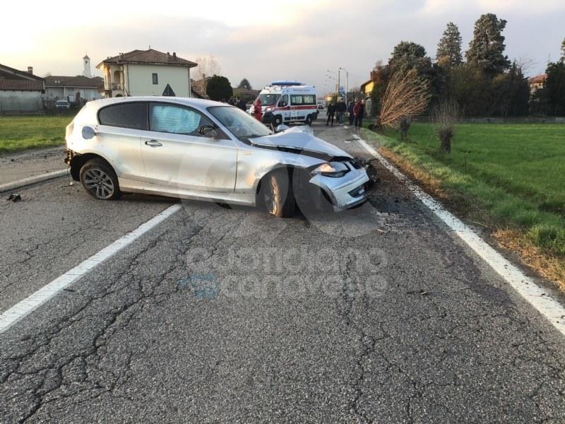 CASTELLAMONTE - Spaventoso incidente sulla provinciale 222. Un ragazzo ferito - FOTO E VIDEO