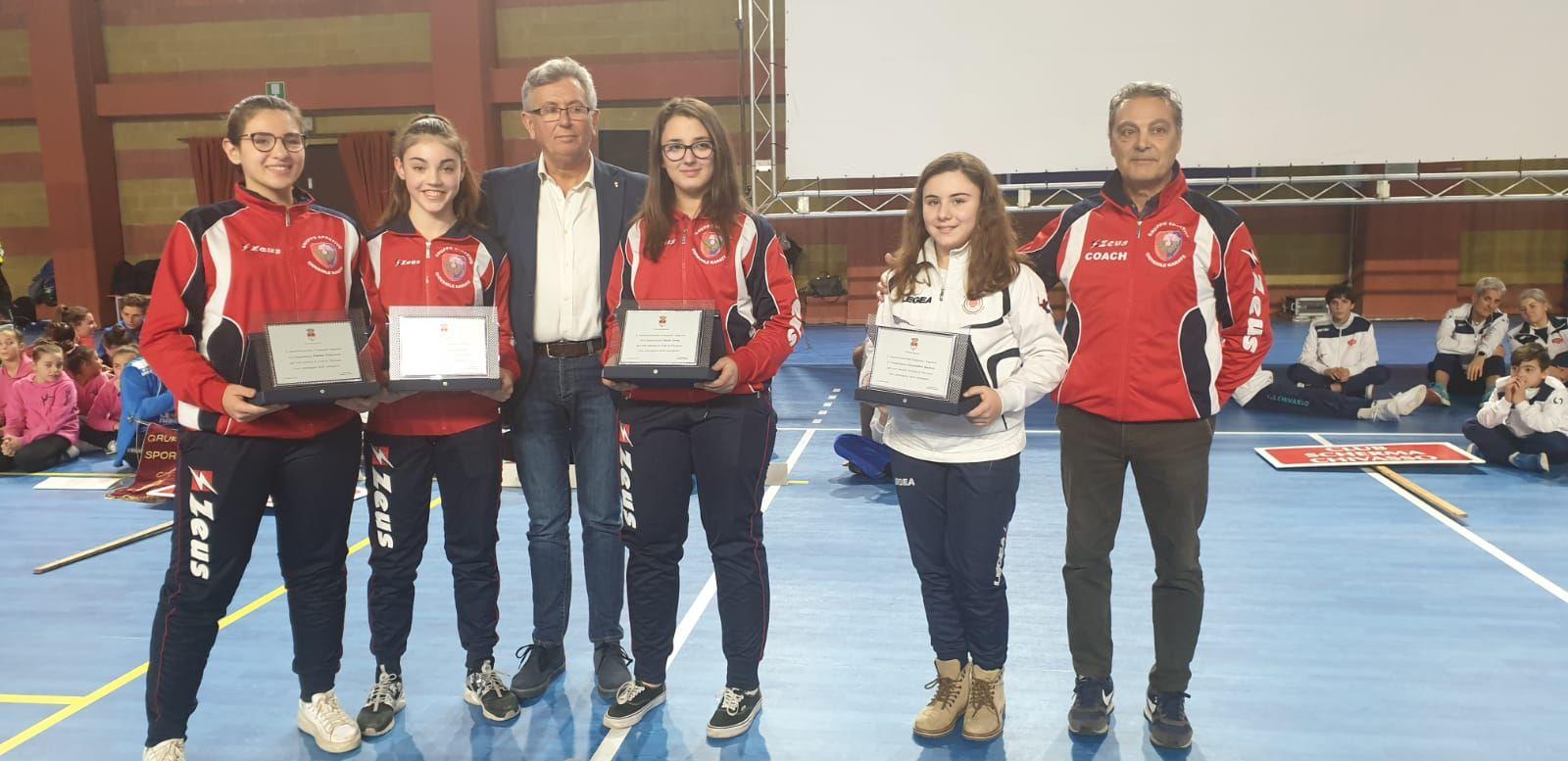CHIVASSO - Il Comune ha premiato gli sportivi dell'anno - FOTO