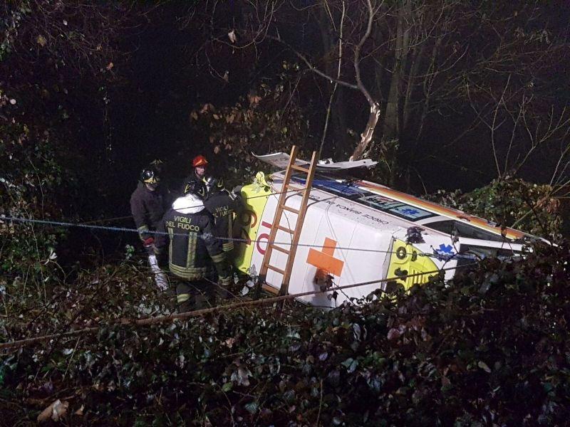 PERTUSIO - Incidente mortale con l'ambulanza: il cordoglio della croce bianca del Canavese