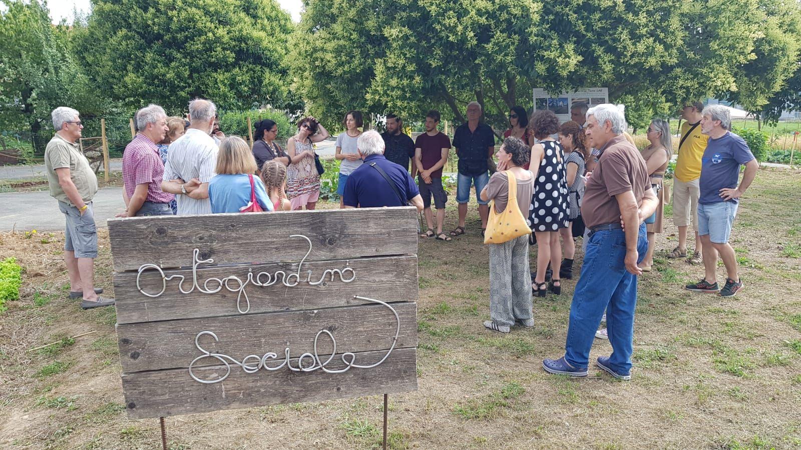 CASTELLAMONTE - Inaugurato l'orto giardino sociale - VIDEO
