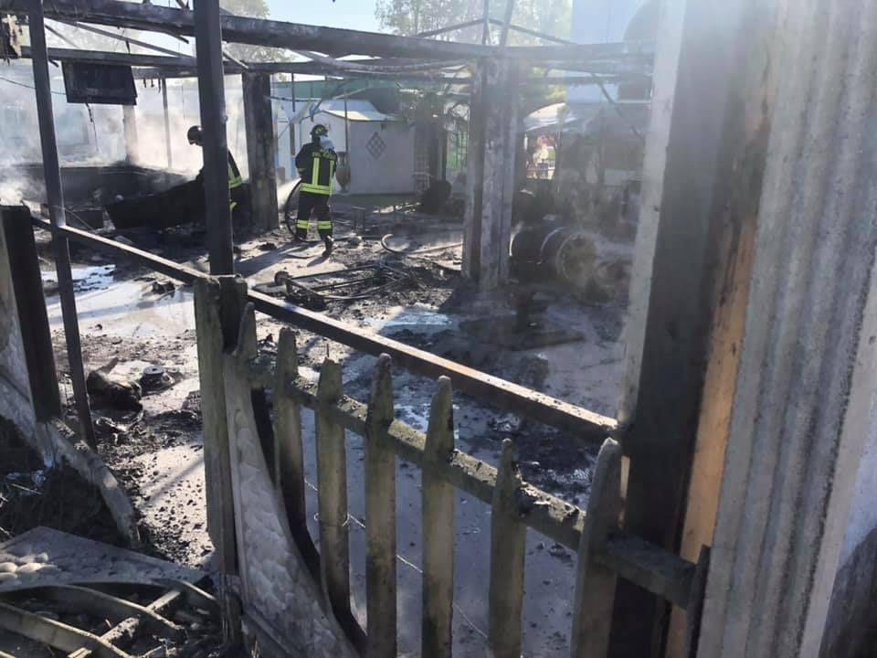 FELETTO - Incendio alla Federazione Calcio Balilla: «Trovata della diavolina sospetta: è stato un atto doloso» - FOTO e VIDEO