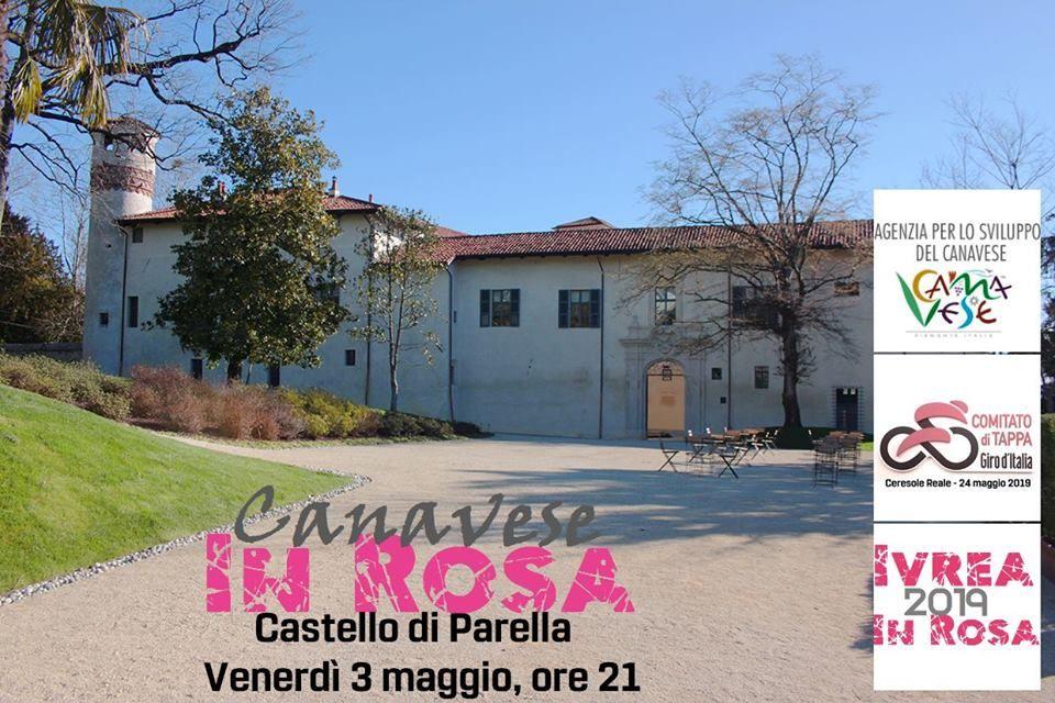 PARELLA - Al castello Giro d'Italia protagonista con «Canavese in Rosa»