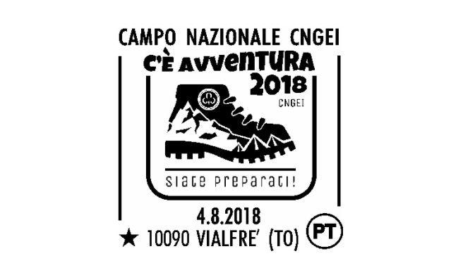 VIALFRE' - Un annullo filatelico delle Poste per l'atteso campo scout