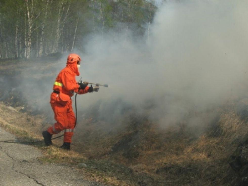 CANAVESE - Allerta incendi: la Regione dispone lo stato di massima pericolosità