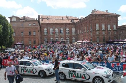 GIRO D'ITALIA - La grande festa di Agliè nel ricordo di Marco Pantani - FOTO