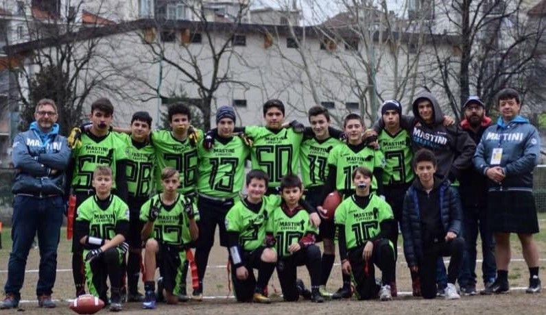 FLAG FOOTBALL - Esordio di campionato con una vittoria e una sconfitta per i Mastini Canavese