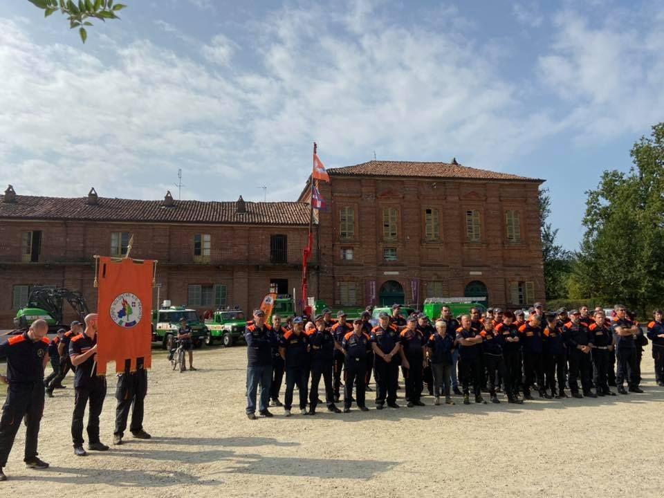 PROTEZIONE CIVILE - Festeggiati i primi 25 anni del Corpo Antincendi boschivi Piemonte