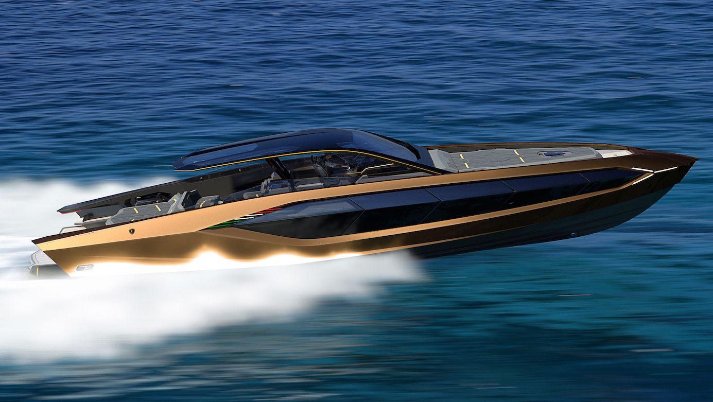 NAUTICA - Il primo yacht Lamborghini