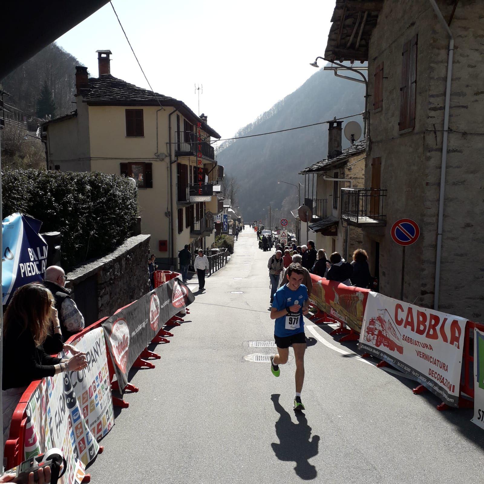 ATLETICA LEGGERA - Niccolò Biazzetti vince la Balma/Piedicavallo a Biella