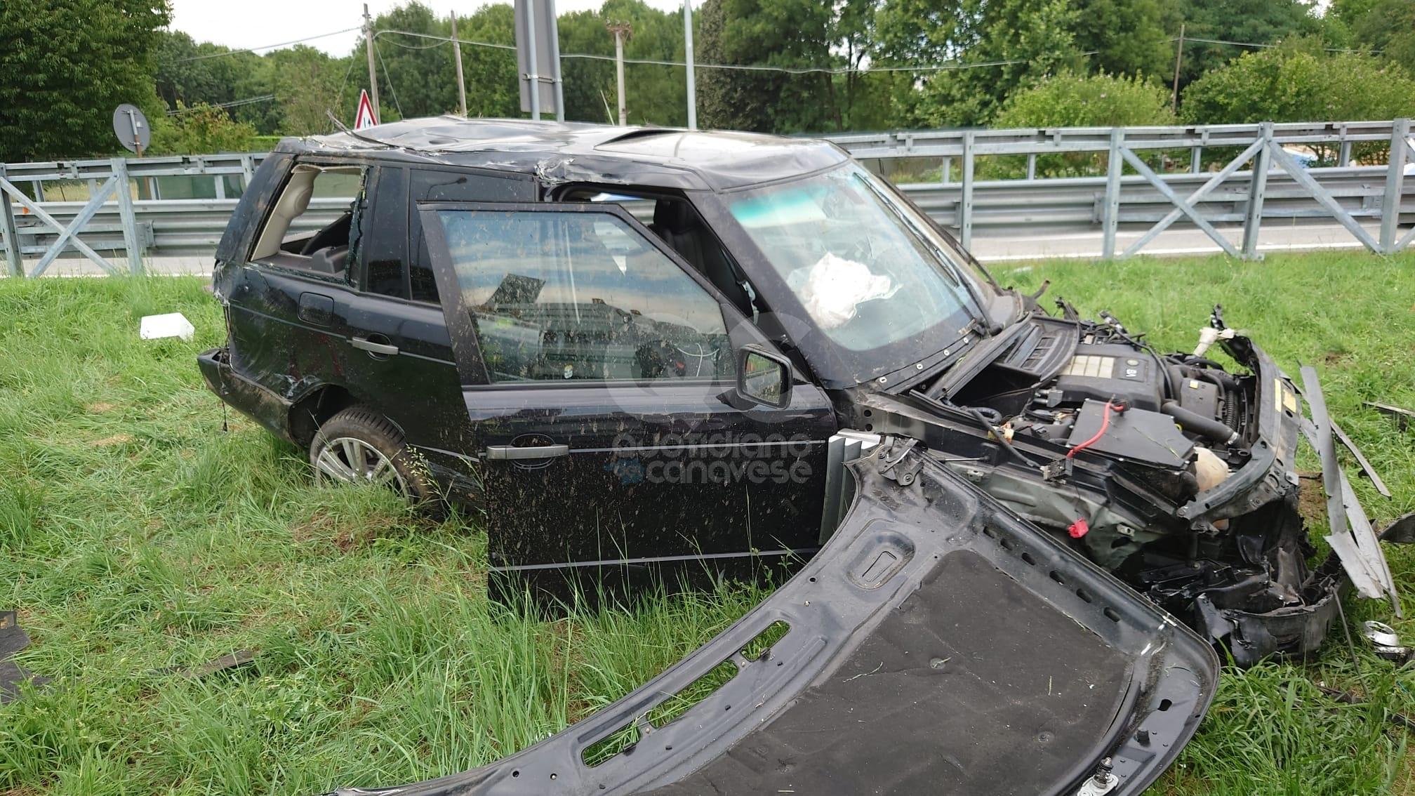 VOLPIANO - Spaventoso incidente sull'autostrada: tre feriti, uno grave - FOTO