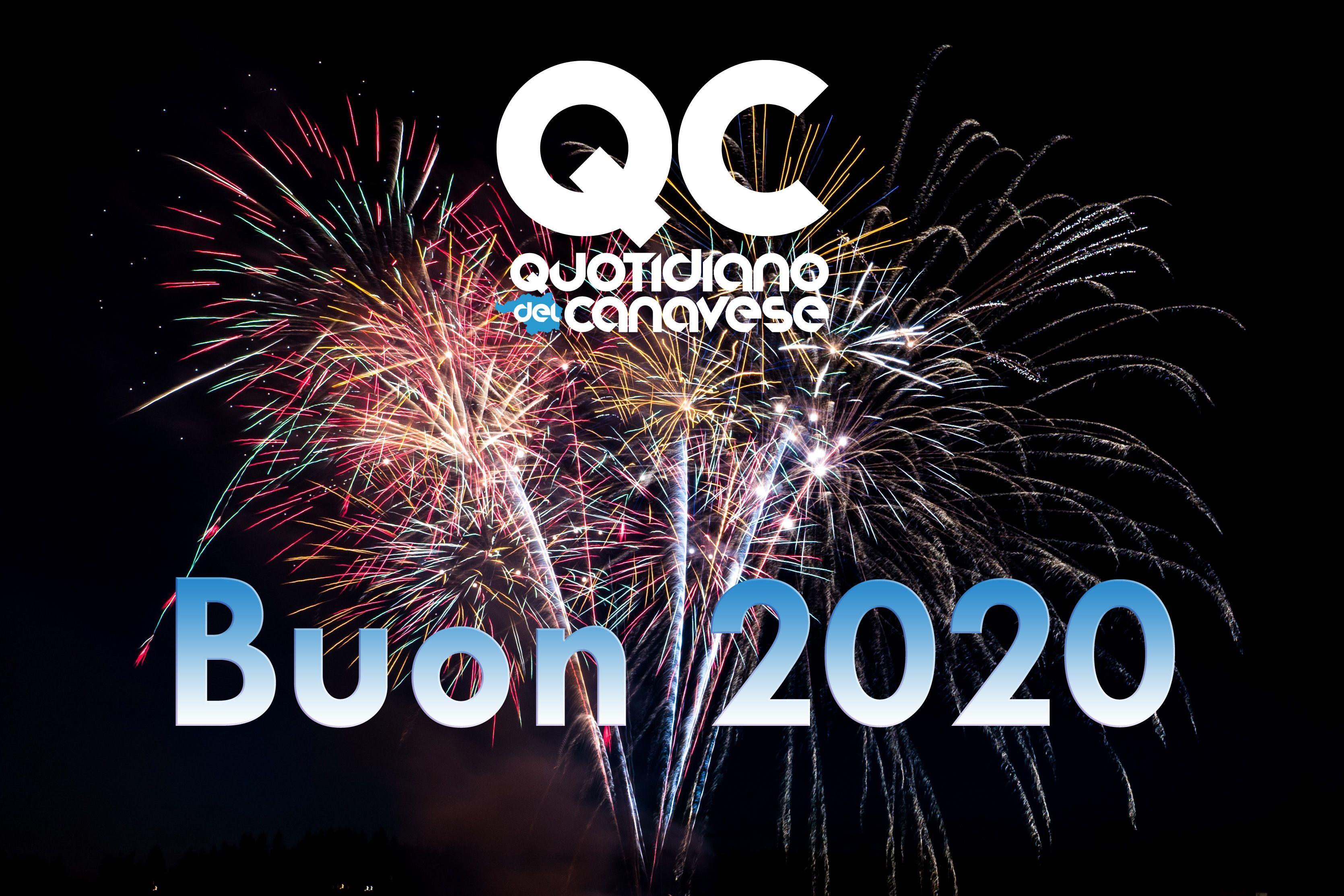 BUON 2020 CANAVESE - Milioni di grazie ai nostri lettori e l'augurio di un nuovo anno all'insegna della serenità