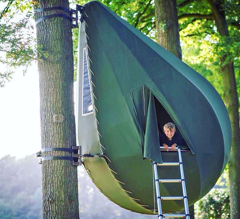 CAMPING – La tenda a forma di goccia di rugiada