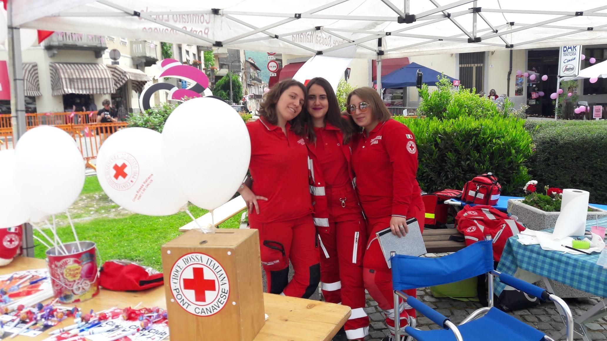 CANAVESE - Il grande impegno della CRI per il Giro d'Italia - FOTO