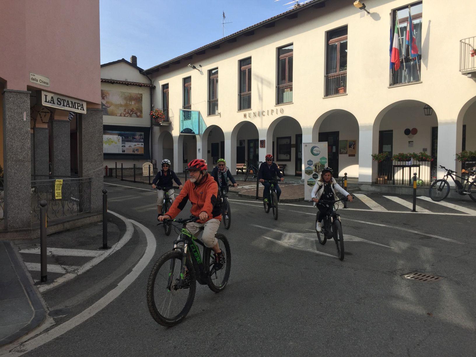 COSSANO - Scoprire un angolo di Canavese in sella alle e-bike