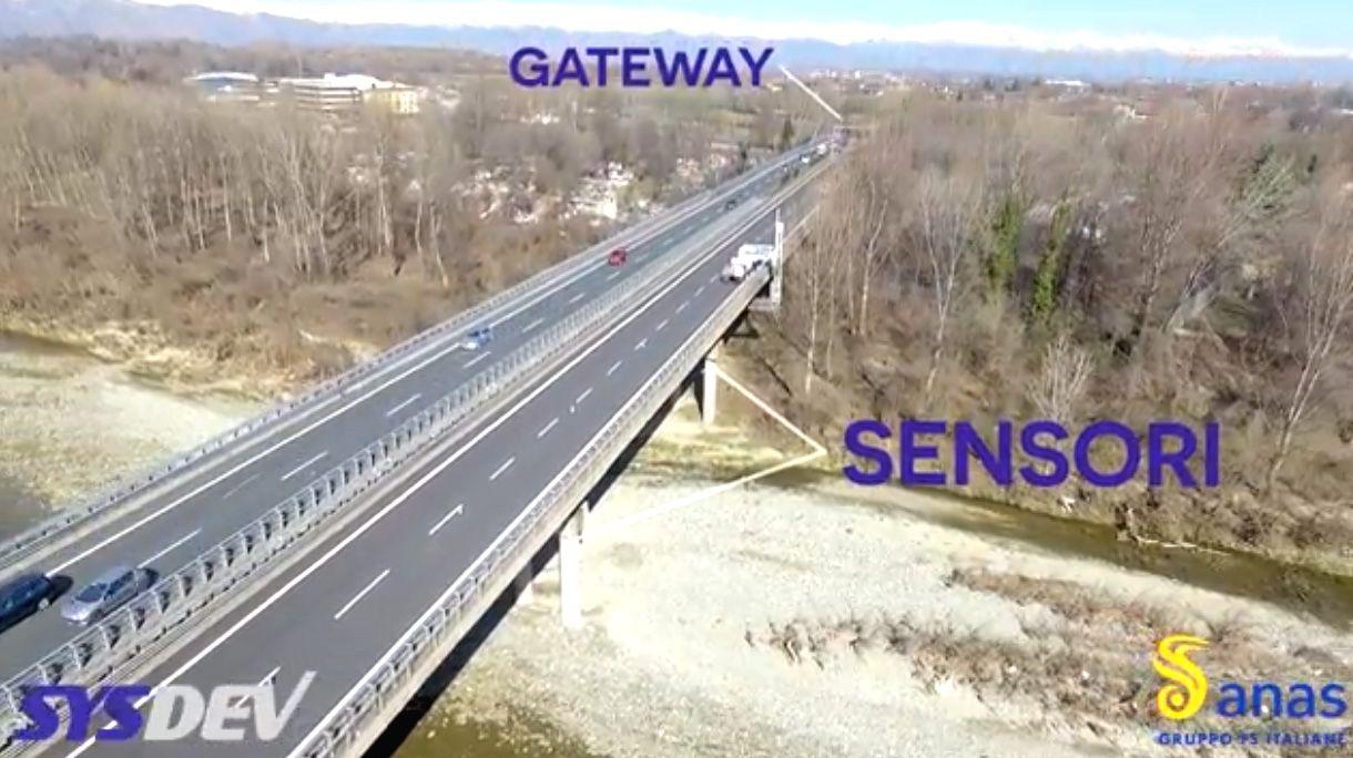 TORINO-CASELLE - Innovative scatole nere per tenere sotto controllo ponti e viadotti - VIDEO