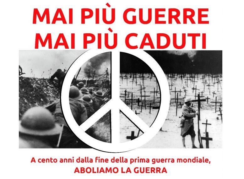 CANAVESE - Pacifisti in piazza: «4 Novembre giornata di lutto»