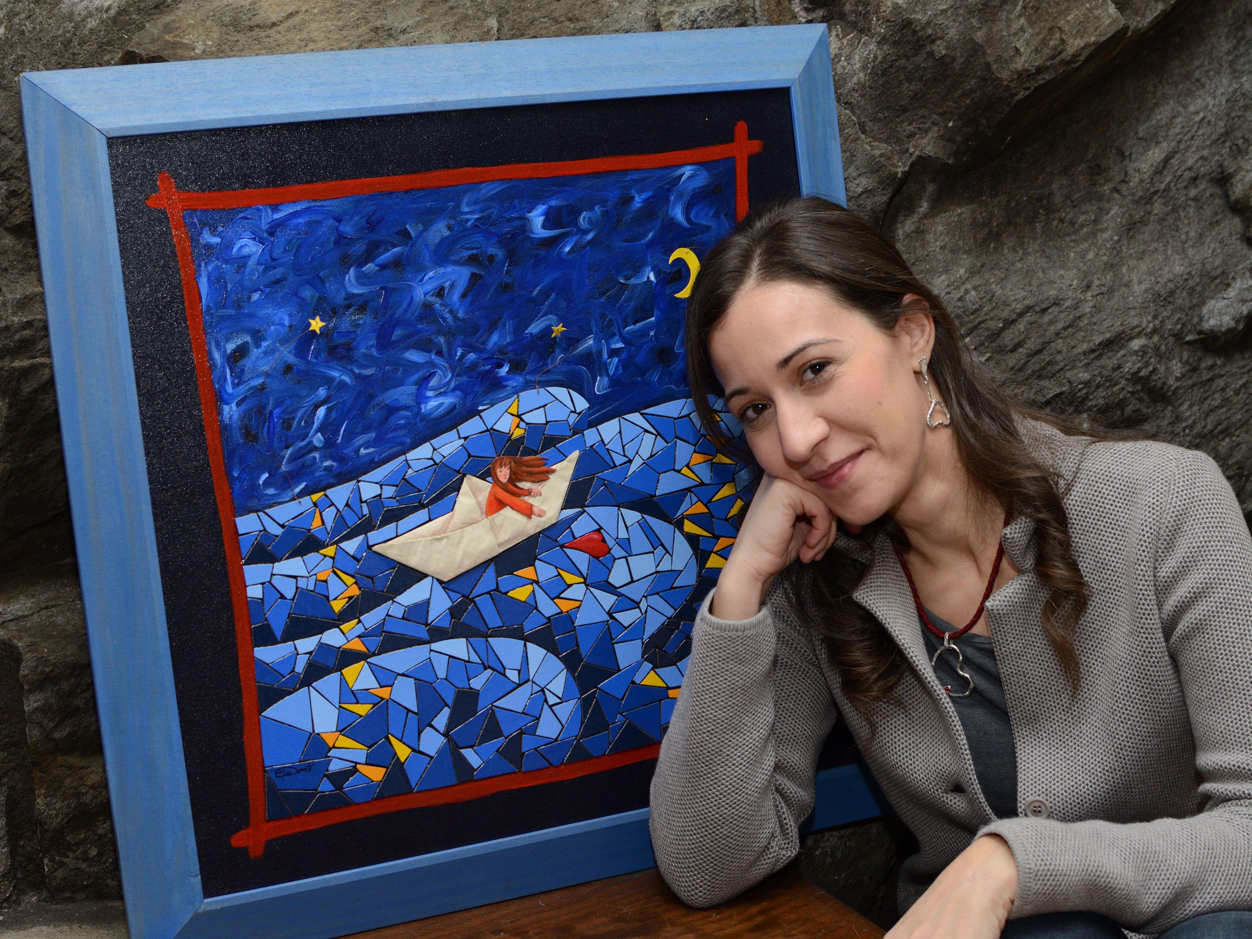 PONT - Dal Canavese al Lago Grande: le opere della pittrice dei sogni Elisa Donetti ad Avigliana - FOTO