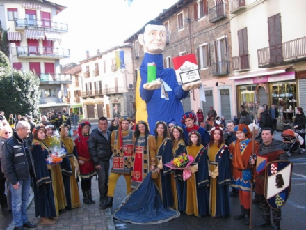 CASTELLAMONTE - Ecco il Re Pignatun del carnevale 2014