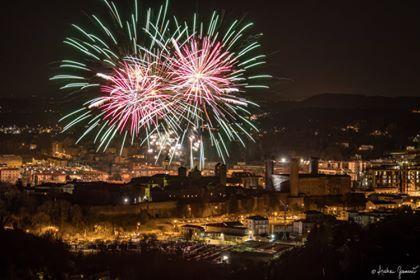 CARNEVALE IVREA - Sabato 5000 effetti pirotecnici per Violetta - FOTO