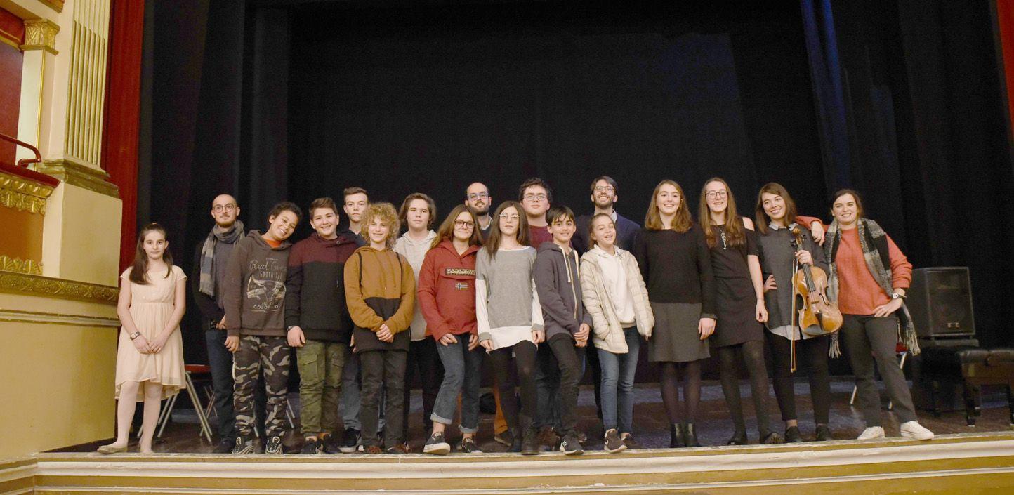 IVREA - «Gli accordi rivelati» ai ragazzi delle scuole medie