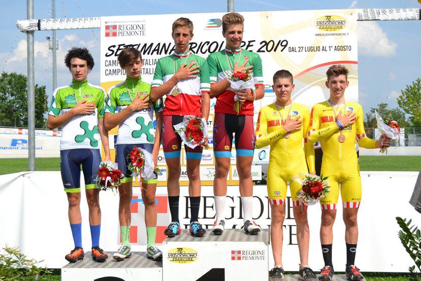 CICLISMO - Campionati Italiani Giovanili, trionfa il Piemonte a San Francesco al Campo - FOTO