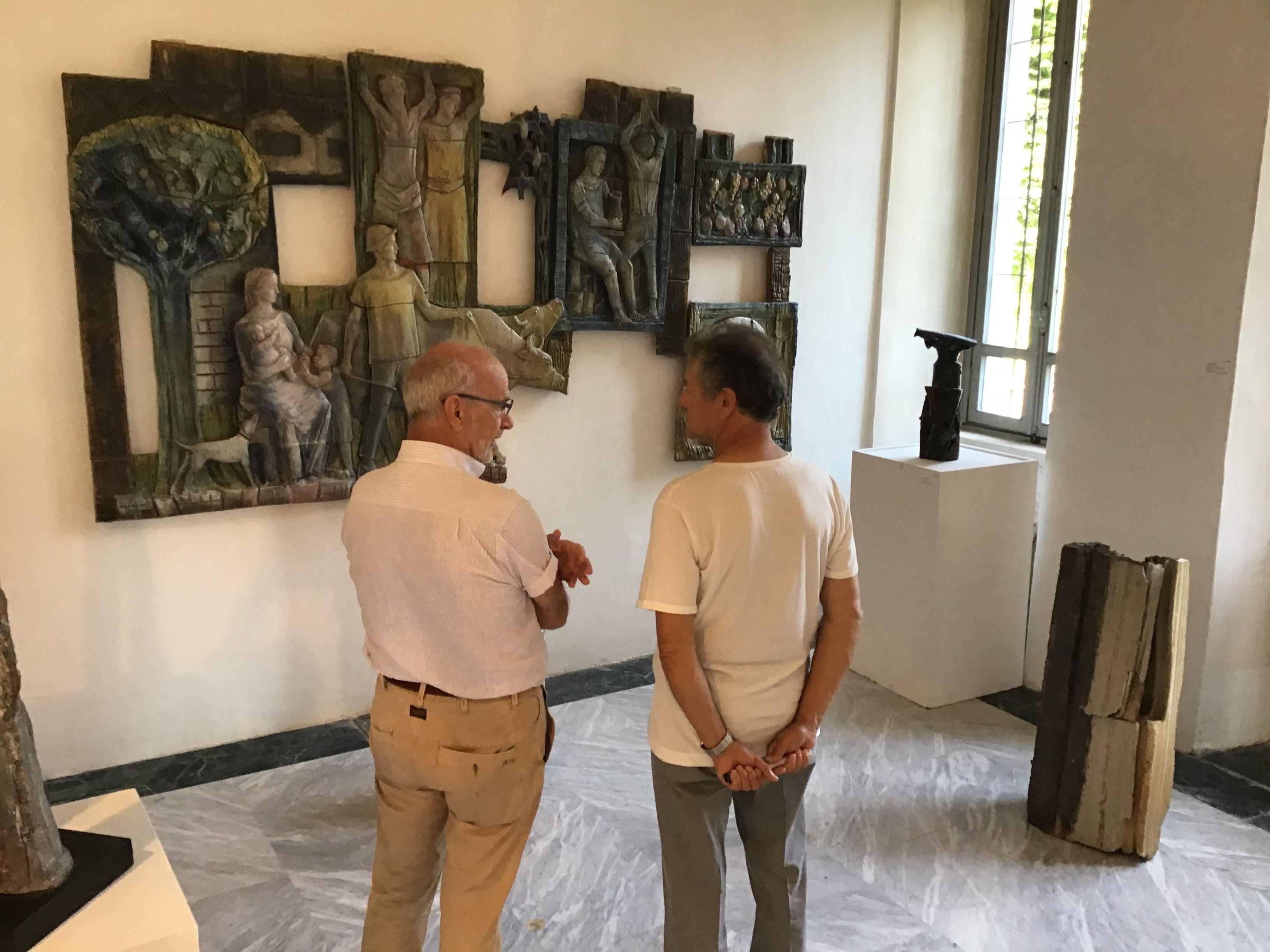 CASTELLAMONTE - Da Francia e Svizzera alla Mostra della Ceramica