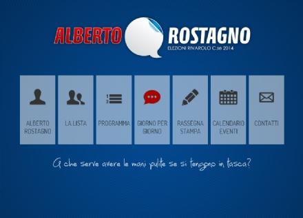 ELEZIONI RIVAROLO - Sfida web: Rostagno lancia il sito e pareggia
