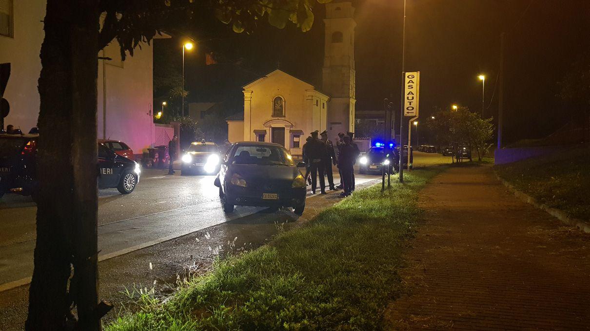 RIVAROLO-LEINI - Sparatoria e inseguimento a folle velocità: la corsa del malvivente finisce in via Bonaudi - FOTO e VIDEO