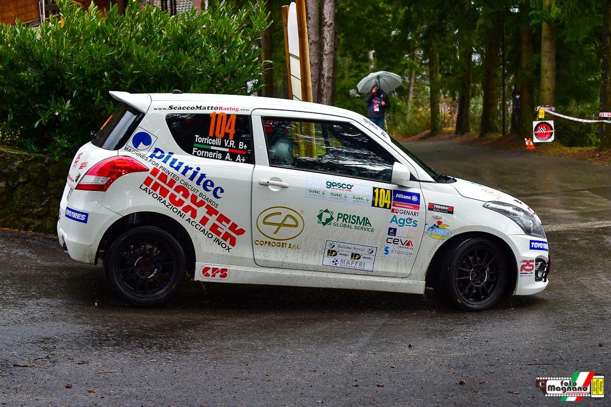 RALLY - Al Targa Florio ai nastri di partenza con la Suzuki il canavesano Alessandro Forneris