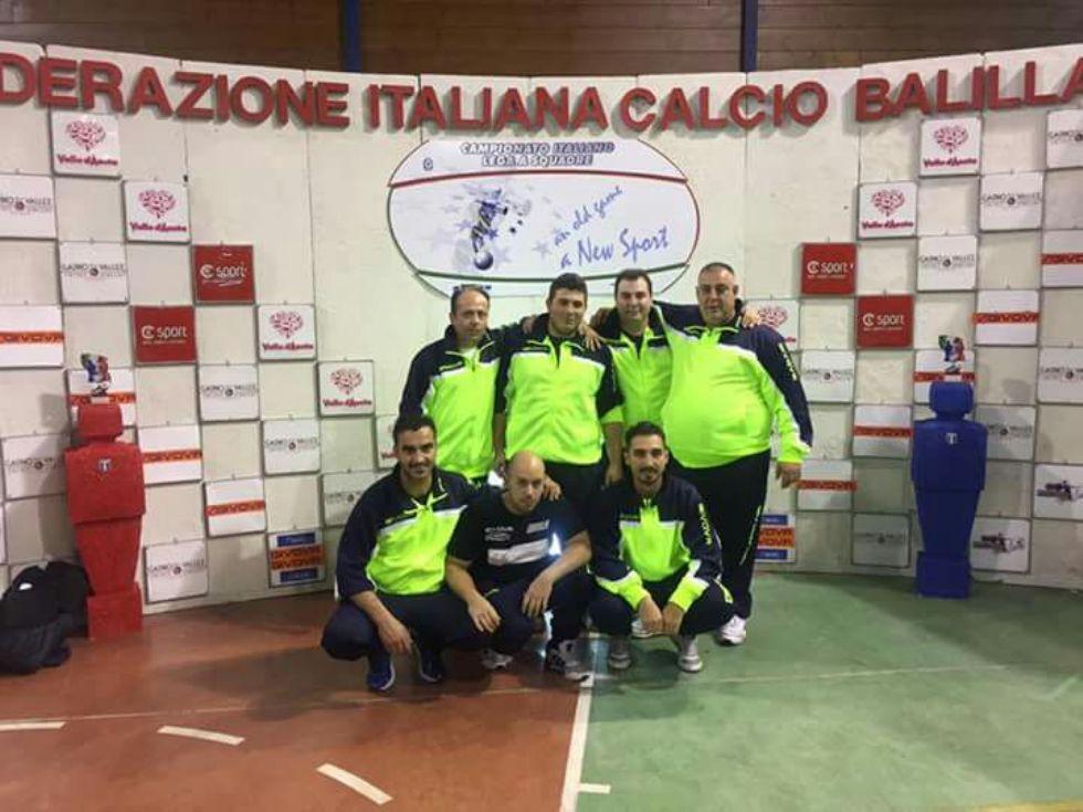 CALCIO BALILLA - Feletto e Chivasso conquistano la qualificazione in Serie B