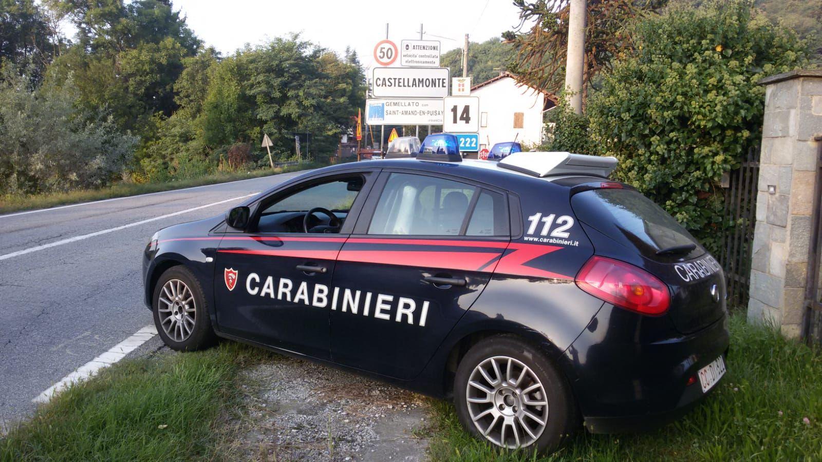 CASTELLAMONTE - Violenza sessuale su una minorenne: 50enne arrestato dai carabinieri dopo la condanna in tribunale