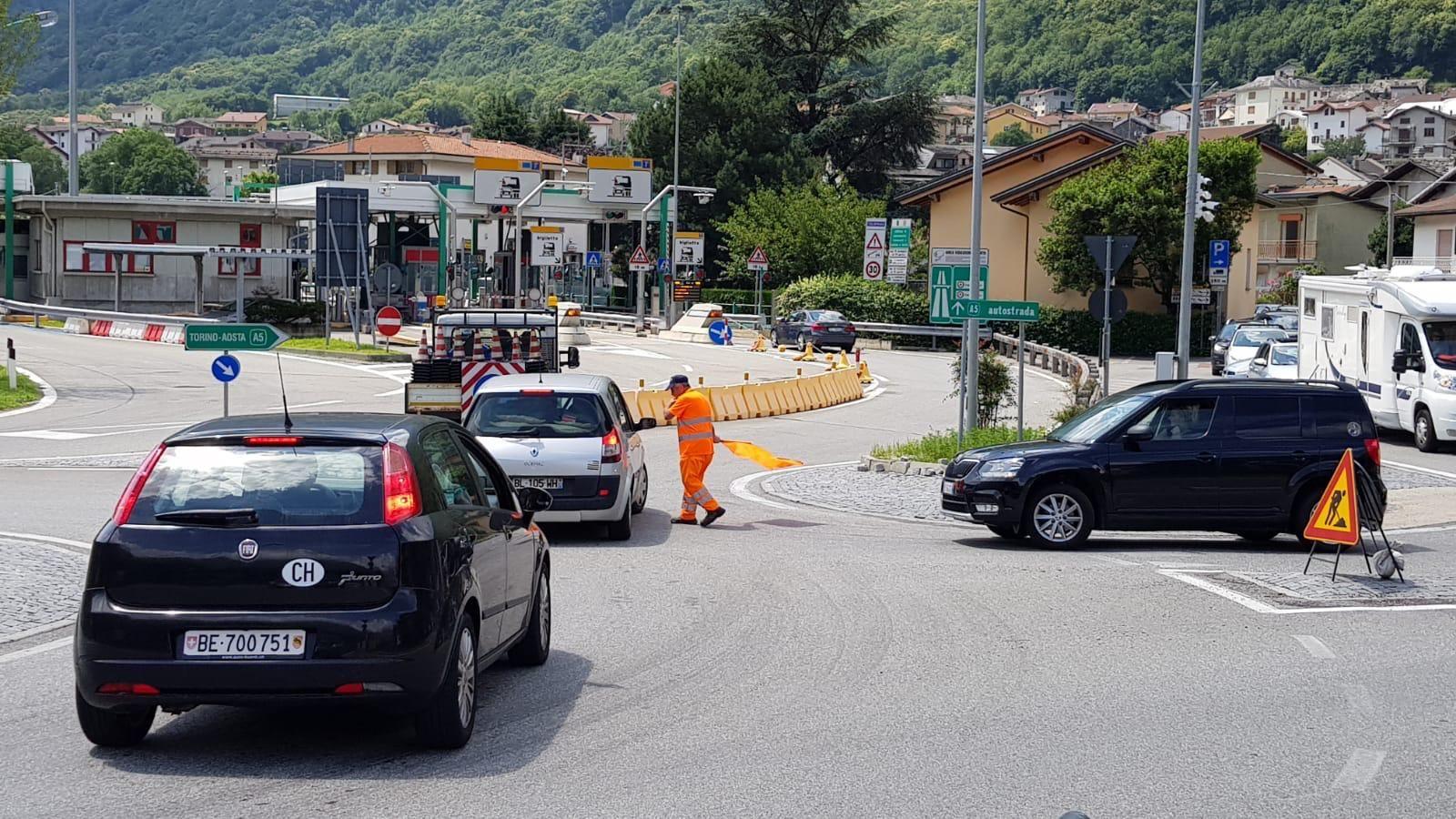 QUINCINETTO - Frana minaccia la A5: niente «stato di emergenza»