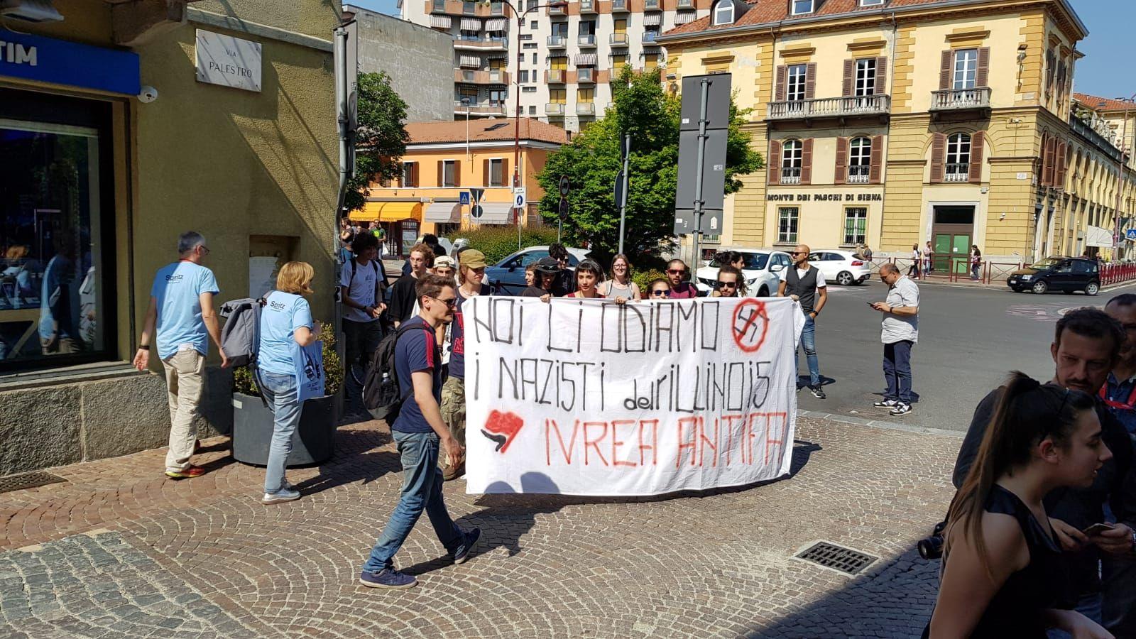 IVREA - Manifestazioni di sabato: Giglio Vigna ringrazia la polizia