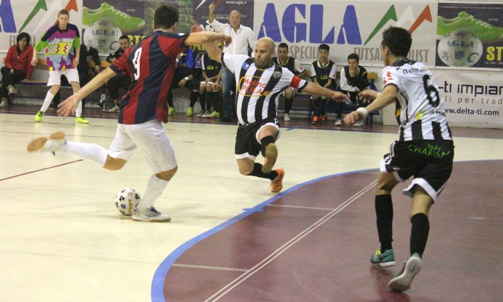CALCIO A 5 SERIE B - Il Castellamonte vince il match verità con il Bologna - FOTO